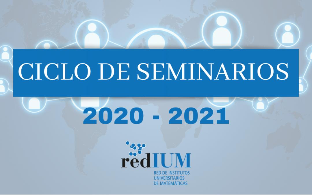 Ciclo de seminarios RedIUM 2020-2021