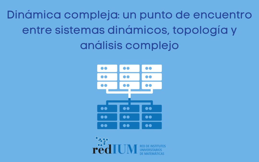 Seminario Online sobre dinámica compleja: un punto de encuentro entre sistemas dinámicos, topología y análisis complejo